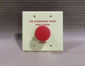 New No Packaging Siemens Aw 1 Abort Station Fire Extinguishing System Fire Alarm