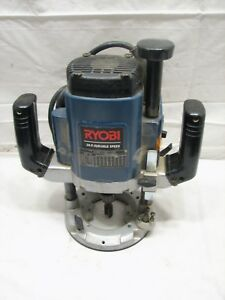 Ryobi Re 600 Heavy Duty Variable Speed Plunge Router Tool 3 Hp Tool
