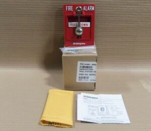 New Simplex 4099 9002 Addressable Pull Station Fire Alarm