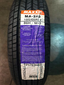 4 New 185 65 14 Maxxis Ma 202 Tires