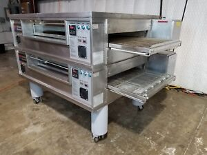 Middleby Marshall Ps570 Gas Conveyor Ovens Chamber Doublestack 32 Wide 70 Long