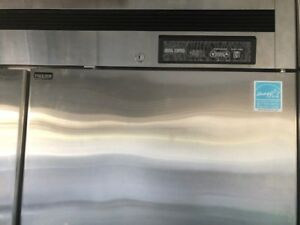Used Maxx Cold Mcft 49fd Double Door Commercial Top Mount Reach In Freezer