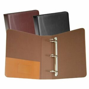 Royce Leather 3 ring d Ring Binder