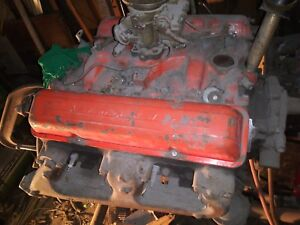 1964 To 66 195 220 Hp 2 Bolt Main Chevy 283 Engine