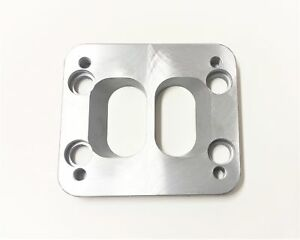 Hx52 To T3 Counter bored Divided Turbo Flange Adapter Plate For Cummins Manifold
