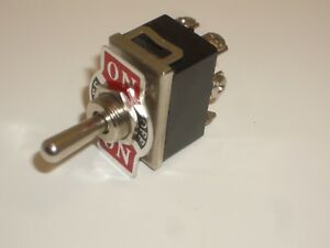 Net T30 Dpdt Momentary on off on Toggle Switch 20a 125vac 15a 250vac