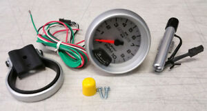 Sale Auto Meter Ultra Lite Ii Tachometer 3 3 4 10000 Rpm Dash Mini Shift Light