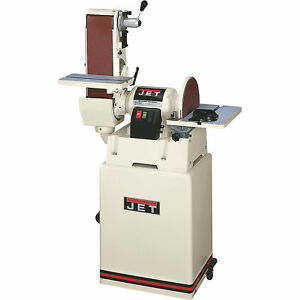 JET Combination BeltDisc Sander with Closed Stand Model# JSG-6CS