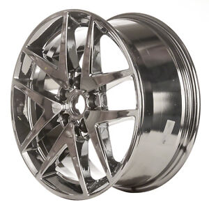 Oem Reconditioned 17x7 5 Alloy Wheel Light Pvd Chrome Full Face Painted 560 3797