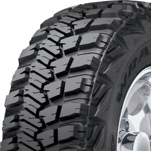 4 New 31x10 50r15lt Goodyear Wrangler Mt r With Kevlar 6 Ply C Load Tires
