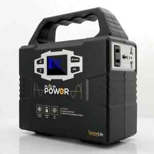Serenelife Slspgn10 Portable Power Generator Rechargeable Battery Pack Power
