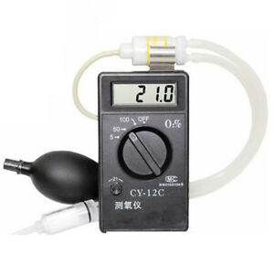 Cy 12c Oxygen Concentration Tester Meter Detector Analyzer Oxygen Purity Tester
