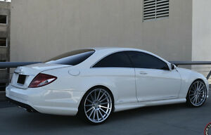 22 Road Force Rf15 Wheels For Mercedes Benz S63 Cl S500 S550 22x9 0 22x10 5