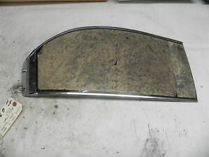 Vintage New 1 2 Green Tinted Plastic And Stainless Sunvisor Rolum