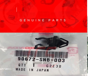 Oem Genuine Honda 06 09 Civic Si Dx Lx Hood Prop Rod Holder Clip 90672 Snb 003