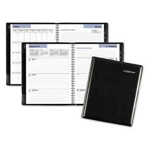 At a glance Dayminder Executive Weekly monthly Planner 6 7 8 X 8 3 4 Black