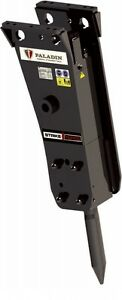 Hydraulic Hammer For Mini Excavators 400lbs Of Force fits All Brands paladin