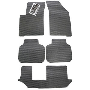 Volvo Xc90 All Weather Rubber Floor Mats Custom Fit Colors