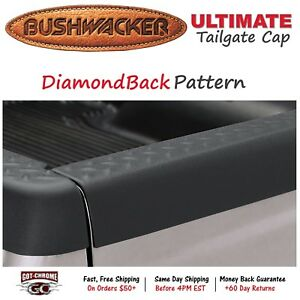 59508 Bushwacker Ultimate Black Bed Tailgate Cap Dodge Dakota 1997 2004