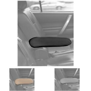 Uaa Cloth Armrest Cover For Car Van Truck Seat 1 Piece Black Beige Gray