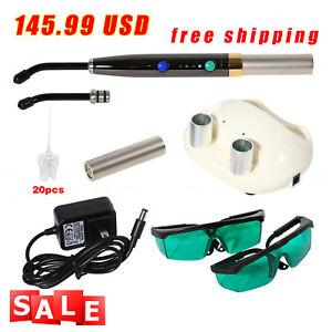 Dental Diode Soft Tissue Laser Wireless Laser Pen Surgical Device 650nm Pad Ligh