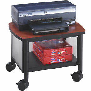 Safco Impromptu Under Table Printer Stand Cherry black Model 1862bl