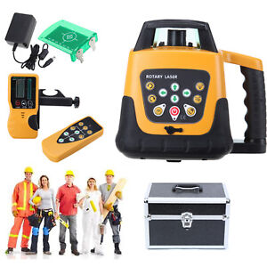 Auto Green Beam Self leveling Horizontal Vertical Rotating Laser Level Kit Ip54