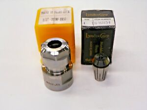 Er 16 Collet Chuck 1 2 20 Unf Mount With Lyndex Corp Er16 Size 4 Collet A148