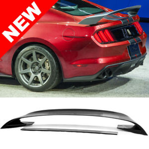 2015 19 Ford Mustang Gloss Black Trunk Spoiler Wing Gt350r Style