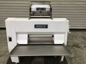 Anets Dough Roller Sheeter Double Pass Through Sdr21 Rolling Machine Pizza