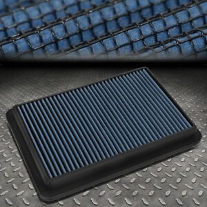 For 12 18 Mazda 3 6 Cx 5 2 0l 2 3l 2 5l Washable Drop In Air Filter Panel Blue