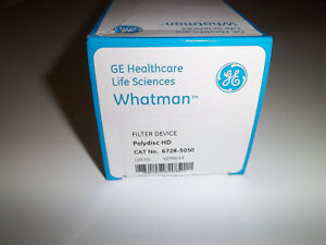 In line Filter Devices 10 Ct Polydisc Hd Polypropylene Ge Whatman 6728 5050