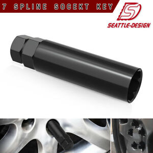 7 Spline Small Diameter 13 16 7 8 Wheel Lock Lug Nuts Socket Key Tool Remover