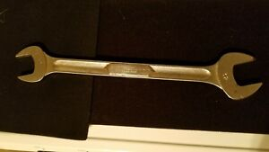 Snap On Vintage Underline Logo 30mm 32mm Open End Wrench Mechanics Tool Snap On