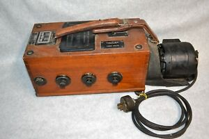 Vtg Biddle Megger Wire Inspection Tester W electric Motor Ill Public Service Co