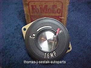 Nos 1956 Ford Fomoco Crown Victoria Fairlane Dash Temperature Gauge