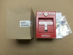 New Simplex 4099 9004 Led Addressable Fire Alarm Pull Station 06501205