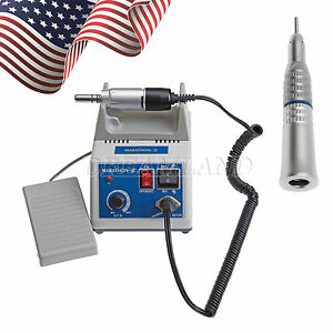 Dental Lab Marathon Electric Micro Motor Straight Nosecone Handpiece Usa F nsk