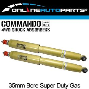 2 Front Gas Shock Absorbers Jeep Cherokee Xj 1994 2001 4x4 Limited Sport Classic
