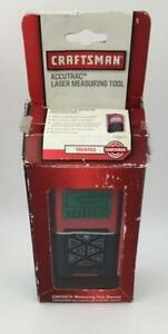 Craftsman Accutrac Laser Measuring Tool Distance 100ft Tape Measurer Tools Lcd