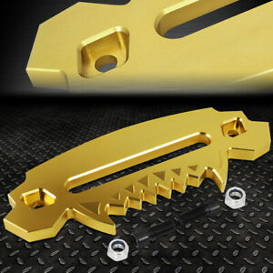 Gold 10 Aluminum Hawse Fairlead For Synthetic Winch Rope Cable Lead Guide 4x4