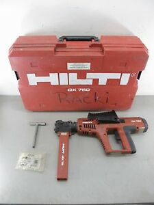 Hilti Dx 750 Powder Actuated Fastening Tool W Mx 75 Magazine Accessory