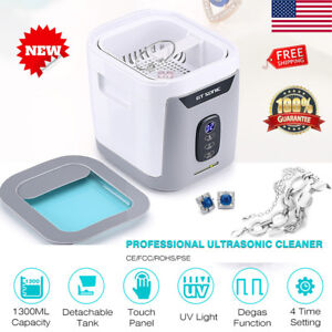 1 3l Ultrasonic Cleaner Polishing Jewelry Ultrasonic Cleaning Touch Panel Timer