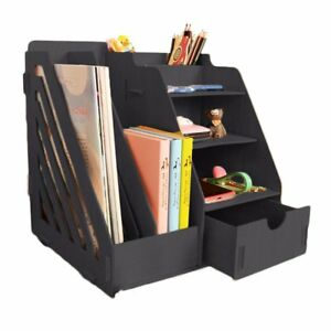 Wood Multi functional Desk Organizer simple And Modern Design For Office home