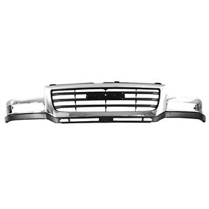 Front Grille Fits 2003 2006 Gmc Sierra 104 01884a