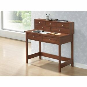 Modern Designs Home Office Writing Desk With Shelf
