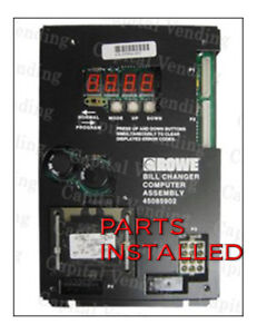 All Parts And Labor To Repair Your Rowe Century Dollar Bill Changer Board