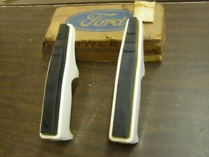 Nos Oem Ford 1967 1972 Truck Pickup Front Bumper Guards 1968 1969 1970 1971 F100
