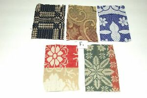 Antique Coverlet Pieces For Pillows Appliques Hearts Easter Eggs F1