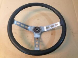 Jeep Amc Cj5 Cj7 Cj8 76 86 3 Spoke Steering Wheel Black Oem Factory Renegade
